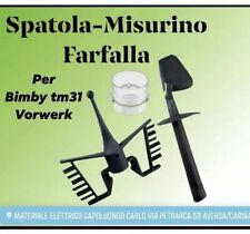 BIMBY BICCHIERINO DOSATORE + FARFALLA + SPATOLA ADATTABILI TM31