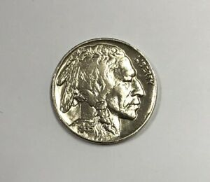 1935 P Buffalo Nickel About Uncirculated UNC