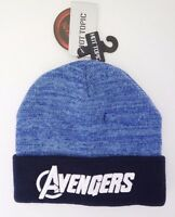 Men/'s Adult Graphic Pom Winter Hat Ages 14 Marvel Comics DEADPOOL Youth NWT