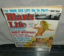 Vintage Man's Life Magazine Fine+ Condition GGA Hot Babes March 1968