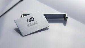 KlipAL Silver Handmade Universal Phone Holder Ring Desk Stand Detachable Tripod