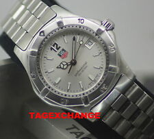 TAG Heuer Stainless Steel Strap Unisex Wristwatches