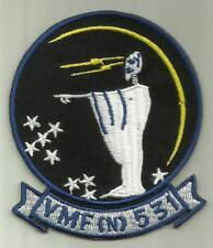 VMF(N) 531 USMC PATCH GREY GHOSTS MARINE FIGHTER SQDN PILOT AIRCRAFT SOLDIER USA