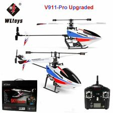 WLTOYS V911 Pro Upgraded 2.4GHz Single Blade RC Mini Helicopter Gyro Outdoor