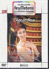 DVD - L'AGE EN  FLEUR 3  LES PLUS GRANDS FEUILLETONS DE LA TELEVISION FRANCAISE