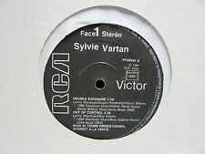 "MAXI 12"" SYLVIE VARTAN Double exposure / out of control PT 40540 PROMO"