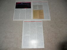 NAD 7600 Receiver Review, 3 pg, 1987, Full Test