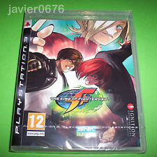 THE KING OF FIGHTERS XII PAL ESPAÑA NUEVO Y PRECINTADO PARA PS3