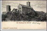 EISENACH um 1900 Thüringen Wartburg Burg Castle Postkarte ungeteilte Rückseite