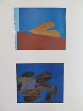 Josef Albers Original Silkscreen Folder XXV-1/Left Interaction of Color 1963