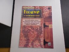 * Broadway-by Special Arrangement Jazz style variations Songbook-Cd-Trombone/+