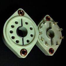 9 broches de haute qualité en céramique Valve Tubes Socket Pour E2e, F2a, etc.