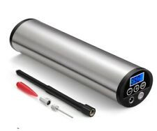 Inflator Air Pump Mini Electric Tyre Pressure Gauge Bike LED Lighting With USB