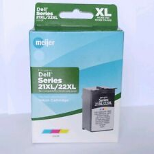 Dell Series 21XL/22XL REMANUFACTURED TriColor Inkjet Replacement Cartridge ©2017