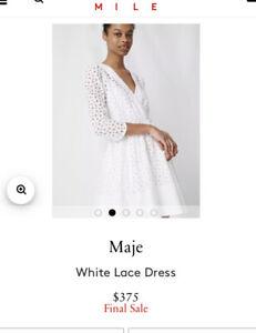 Maje Dress Size 2 - Uk 10