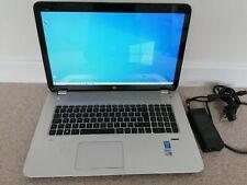 Touch Screen Gaming laptop 17.3in HP envy 17-j185na i7 4710mq 840m 8gb 1TB