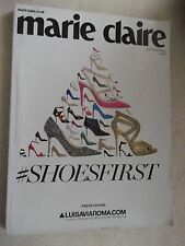 MARIE CLAIRE  October 2015. Shoesfirst Magazine.