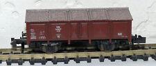 Y 52 ) Wagon tombereau a clapets DB essieux Roco ref 2324 train electrique N