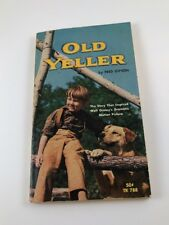 Vintage Book Old Yeller Fred Gipson Scholastic Books 1965 Paperback Disney