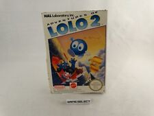 LOLO 2 ADVENTURES OF NINTENDO NES 8 BIT PAL A MATTEL UK GBR ORIGINALE