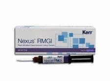Kerr Nexus RMGI Resin Glass Ionomer Luting Cement 5 Gm Dual Mixing Syringe