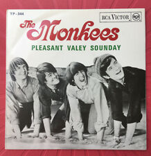 THE MONKEES *Pleasant Valley Sunday+ 3 * EP PORTUGUESE EDITION EXC Original
