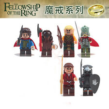 6 PCS Lord of the Rings Minifigures Gandalf Aragorn Samwise No Box Fit lego #2