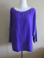 Mela Purdie purple top, size (2X)18, pre loved