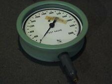 New listing Vintage Ashcroft Pressure Gauge to 5000 Green Nos
