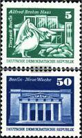 DDR 1947R-1948R mit Zählnummer (kompl.Ausg.) gestempelt 1974 Bauwerke