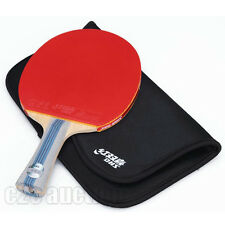 DOUBLE HAPPINESS DHS 6002A TABLE TENNIS RACKET PING PONG PADDLE 6 STAR LONG HAND