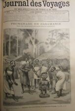 Journal of Voyages No No 805 of 1892 Expedition Africa Mœurs Casamance Fetishes