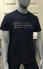 Billabong-hombres-Unidad Tee-T-Shirt-azul marino-ropa de surf