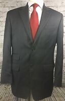 Michael Kors 38R Gray Pinstripe Wool 2 Button Mens Sport Coat Blazer Suit Jacket