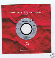 45 RPM SP JULIEN CLERC LE VERROU( PROMO)