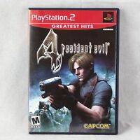 Resident Evil 4 (Sony PlayStation 2, 2005) Greatest Hits