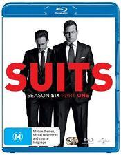 Suits: Season 6 - Part 1 - Aaron Korsh NEW B Region Blu Ray