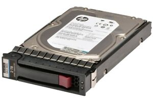 "HP 2TB 6G SAS 7.2K 3.5"" DP Hard Drive w/ Caddy MB2000FAMYV"