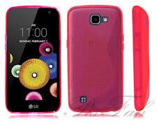 Fundas y carcasas LG color principal rosa de silicona/goma para teléfonos móviles y PDAs