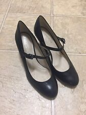 7eb4f4a3453 Women s Naturalizer Black Leather Heels - Orrianne