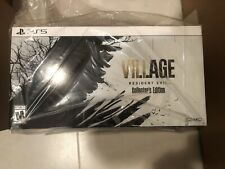 Resident Evil Village Collector's Edition PS5 Version In Hands Ready to Ship
