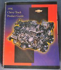 1996 Chevrolet Truck Dealer Guide Brochure Pickup S-10 Blazer Suburban Tahoe Van