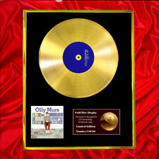 OLLY MURS IN CASE YOU DIDN'T KNOW CD GOLD DISC FREE P+P!