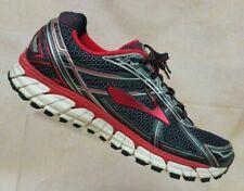 Brooks Adrenaline GTS 15 Black/Red Running Sneakers Shoes Men's 9.5 D / EUR 43