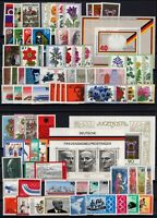 P135770/ WEST GERMANY – YEARS 1974 - 1977 MINT MNH MODERN LOT – CV 125 $