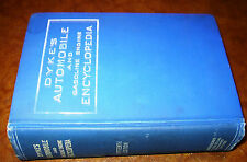 1920-26 1927 Dykes Automobile Book Ford T Motorcycles Trucks Steam Cars Tractors