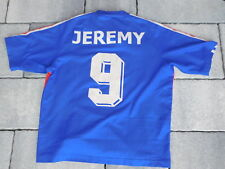MAILLOT adidas ENFANT foot FOOTBALL equipe de FRANCE JEREMY Mathieu FRENCH TEAM