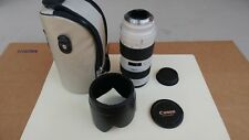 Canon EF Ultrasonic 70-200mm f/2.8 USM Lens With accessories