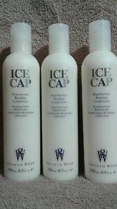 3 Graham Webb ICE CAP Hypothermic Bonding Conditioner 8.5oz / 250ml