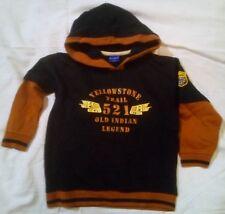 100% Cotton Track Suit Set Track pant + Hooded Jumper 2Pc Size:7 Boy Winter Kids